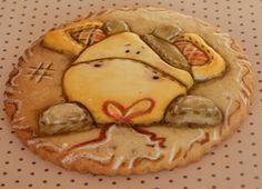 Galleta realizada por Love Cupcakes Vigo en el curso de Camila y Vera Madeira