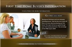 First Time Home Buyers - How To Buy a House? Buying a Home? Learn How To Get Assistance When Buying a House. Buy a Home and Receive First Time Home Buyer Tax Credit, Grants and Loans.