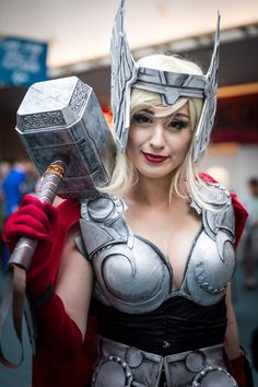 Thor Cosplay - #SDCC San Diego Comic Con 2014 #Rule63