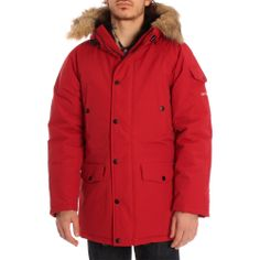 Carhartt Deep Red Anchorage Parka #new #carhartt #mens #style #streestyle www.ark.co.uk/male