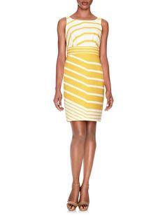 Graphic Stripe Dress | Womens Dresses | THE LIMITED $98 for $49