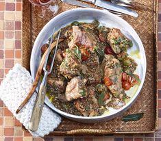Früher galten Linsen als Arme-Leute-Essen. Zusammen mit dem Kaninchen können sie sich aber in jeder Küche sehen lassen.