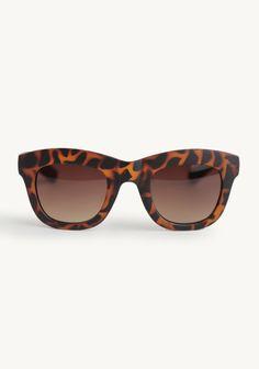 Cinema Sunglasses In Tortoise By A.J. Morgan at #Ruche @Ruche