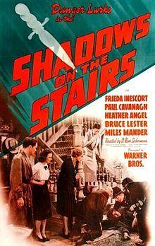 Shadows on the Stairs 1941  Bruce Lester, Charles Irwin, D. Ross Lederman, Drama Mystery Romance, Frieda Inescort, Heather Angel, Lumsden Hare, Miles Mander, Paul Cavanagh, Turhan Bey