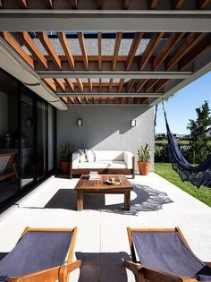The wooden pergola is a good solution to add beauty to your garden. If you are not ready to spend thousands of dollars for building a cozy pergola then you may devise new strategies of trying out something different so that you can re Wooden Pergola, Outdoor Pergola, Backyard Pergola, Patio Roof, Outdoor Decor, Garage Pergola, Pergola Lighting, Cheap Pergola, Outdoor Kitchen Bars