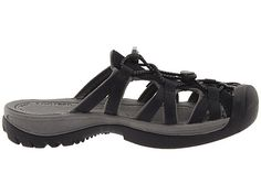 Keen Whisper Slide Black/Gargoyle - so these are hideous...but the 408 ALL five-star reviews have me curious - reminds me of the slides I bought to go walking right after Jos was born.