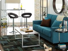 nice color palette, contemporary design, I liiiike  Apartment Decorating Ideas: Apartment Furniture & Decor | Kohl's