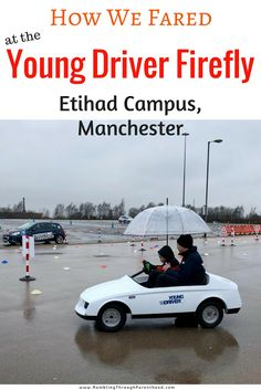 Young Driver is a system of driving lessons for 10 to 17 year olds. They also offer Firefly - 20 minute driving sessions for 5 to 10 year olds. Check out how we got on driving at the Etihad Campus in Manchester.