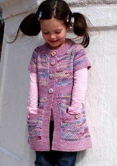 Pepper Knitting pattern by Elena Nodel Love Knitting, Kids Knitting Patterns, Baby Sweater Knitting Pattern, Knitting For Charity, Baby Hats Knitting, Knitting For Kids, Knitted Hats, Knit Baby Dress, Crochet Baby Clothes