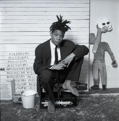 jean michel basquiat; artist
