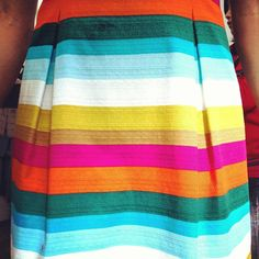 Summer 2013 stripes! From Trina Turk - i could totally see me owning this!  Must fine!