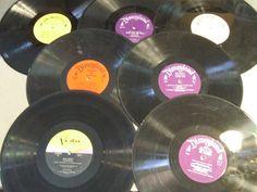 7 VINYL RECORD LP lot CRAFTS DECORATIONS WALT DISNEY PINOCCHIO JUNGLE BOOK