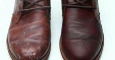 Mon cordonnier m'a donné sa recette pour le cuir... Mes souliers n'ont jamais été plus beaux!
