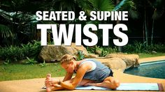 Seated & Supine Twists Yoga Class - Five Parks Yoga - 28 min Twist Yoga, Pilates, Yoga Youtube, Yoga World, Yoga Philosophy, Gentle Yoga, Toning Workouts, Yoga For Kids, Yoga Tips