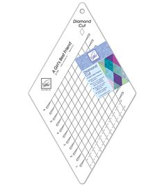 June Tailor Diamond Cut Slotted Ruler, , hi-res