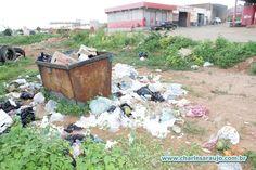 Santa Filomena Atual: Lixo às margens de Santa Filomena prejudica combat...