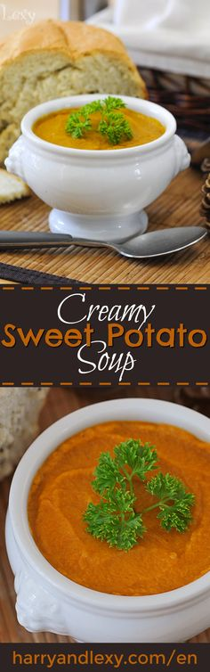This is one of the best soup recipes I have ever tried! This Creamy Sweet Potato Soup is not only super tasty but also very healthy and nutritious.