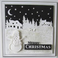 Hello crafters! We are counting down now with only a few more Christmas double days left before the big day. First up is a black and ...
