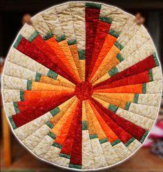 Windmill Swirl Quilt