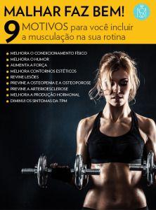 9 motivos para você incluir a musculação na sua rotina