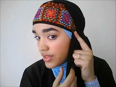 ▶ Hijab Tutorial #3 How to wrap your Shayla Inspired by Amal Murad - YouTube