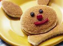 Bunny pancake