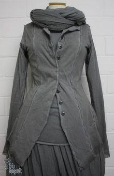 """www.modegalerie-bongardt.de - rundholz mode, rundholz black label, Rundholz DIP Rundholz black label summer 2015 fancy jacket double """"mesh-papercotton""""...3 different colours ! 3651110-S15"""