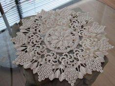 Ideas For Crochet Patrones Ganchillo Chalecos Freeform Crochet, Crochet Art, Crochet Home, Thread Crochet, Filet Crochet, Irish Crochet, Crochet Dollies, Crochet Doily Patterns, Crochet Motif
