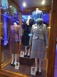 The Iron Lady movie costume exhibit