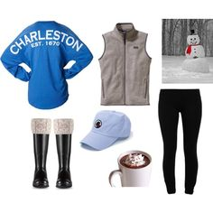 Since when does it snow in SC?! - Polyvore