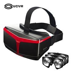 8ce964c5cf UCVR Superior Fresnel Lentes ópticas Mismos materiales que HTC, VR Gafas 3D  de Realidad Virtual
