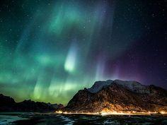 Aurora in Lofoten Islands, Norway by Kevin Gorton