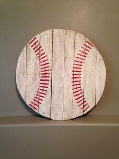 Baseball 27 Inches Across By KTKustomKreations On Etsy 5000 Wall ArtBaseball SignsBaseball