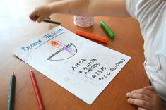 Actividad para trabajar las emociones con los niños y el autoconocimiento: receta de la felicidad