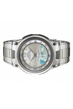 Casio OUTGEAR AW-82D-7AV Stainless Steel Band Men's Watch White