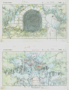 千と千尋の神隠し / Spirited Away (2001) - Layout Design