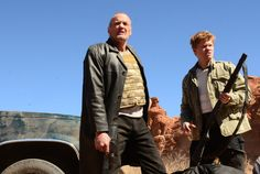 """Uncle Jack (Michael Bowen) and Todd (Jesse Plemons) in """"Breaking Bad"""""""