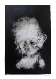 Impression 06 © Laurent Fièvre - Canson paper (acrylic) - 29.7 x 21 cm - 2015