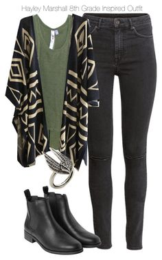 """The Originals - Haley Marshall 8th Grade Inspired Outfit"" by staystronng ❤ liked on Polyvore"