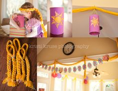 Kristi Kruse PHotography Tangled Party