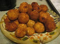 Sauerkraut Balls - I had these in Ohio for the first time and they were so yummy!  Good party food