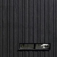 timber cladding, small window