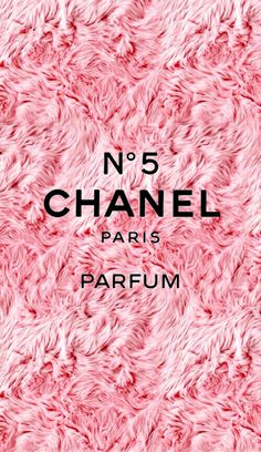 Pink wallpaper Chanel