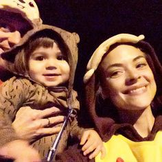 Pin for Later: These Celeb Kids Had the Best Halloween Ever  James Knight Newman, as well as his mom and dad, Jaime King and Kyle Newman, made for a cute pack of monkeys.