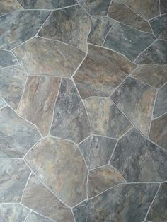 FauxStone Floor PORCELAIN TILE THAT LOOKS LIKE WARM NATURAL STONE - Fake rock flooring
