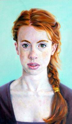"Saatchi Online Artist: Herman Tjepkema; ""Nora Kim"""