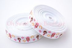 Cowgirl 7/8 Grosgrain Ribbon by OhSweetBabyBoutique on Etsy, $4.50