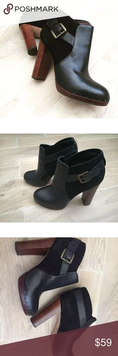 Sam Edelman Chunky wood heel boots booties Ankle Amazing booties from Sam Edelman Sam Edelman Shoes Ankle Boots & Booties