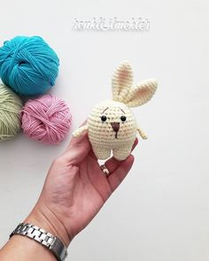 Now writing up the pattern. Easter Crochet, Crochet Bunny, Love Crochet, Crochet For Kids, Crochet Animals, Diy Crochet, Crochet Crafts, Crochet Dolls, Yarn Crafts