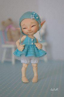 BJD-club • Просмотр темы - Магазин JuliaR (набор заказов закрыт) Tiny Dolls, Bjd Dolls, Fabric Dolls, Paper Dolls, Magical Monster, Enchanted Forest Theme, Hobbit, Clay Fairies, Baby Fairy